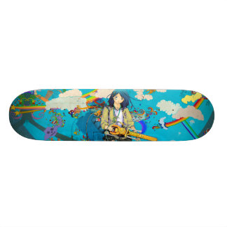 ZOmbie Fighter Skateboard Deck