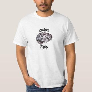 Zombie Food - Brains! horror WWZ Walking Dead fan T-Shirt