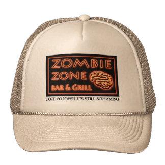 Zombie Food So Fresh Still Screaming Halloween Trucker Hat