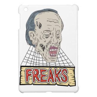 Zombie Freaks Cobwebs Drawing iPad Mini Covers