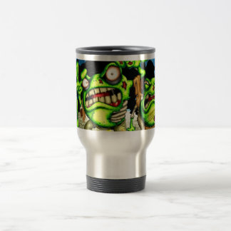 Zombie Frogs Travel Mug