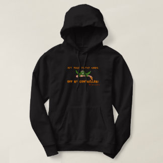 Zombie Get Your Hands Off My Controller Diehards Hoodie