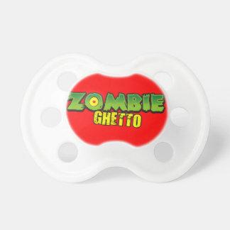 Zombie Ghetto - The Zombie Ghetto Logo Pacifiers
