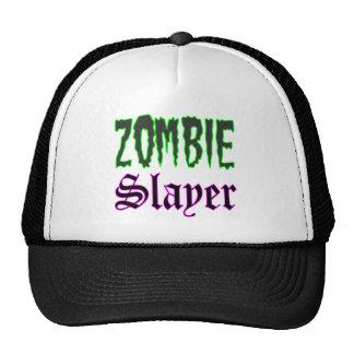 Zombie Gifts Zombie Slayer logo Trucker Hat