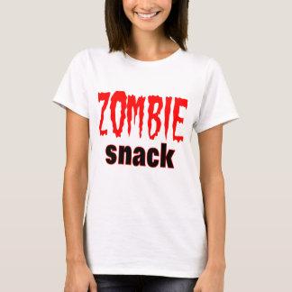 Zombie Gifts Zombie Snack Logo Zombie tee