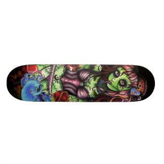 Zombie Girl 3 Custom Skateboard