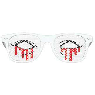 """ZOMBIE GIRL"" Bleeding Eyes Sunglasses"