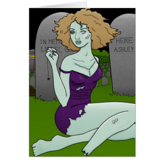 zombie girl cards