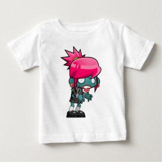 Zombie Girl Cartoon Baby T-Shirt