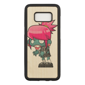 Zombie Girl Carved Samsung Galaxy S8 Case