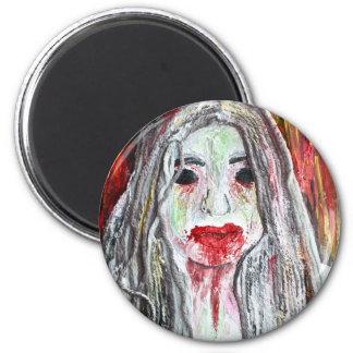 Zombie Girl Magnet