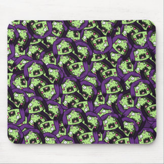 Zombie Girl Pattern Mouse Pad