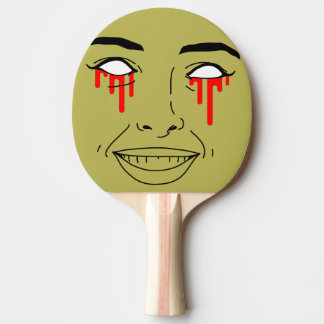ZOMBIE GIRL Ping Pong Paddle