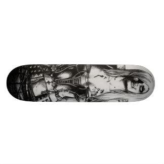Zombie Girl Skateboard Deck