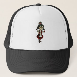 zombie Girl Trucker Hat