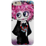 Zombie  goth girl, day of dead PinkyP iPhone 6 Plus Case