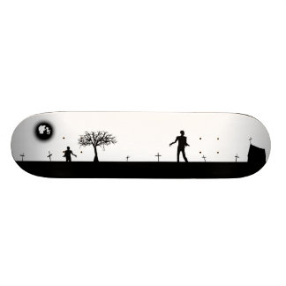 Zombie Graveyard Inverted Skateboards