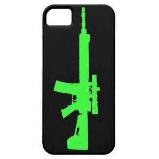 Zombie Green AR-15 iPhone 5 Universal Case iPhone 5 Cases