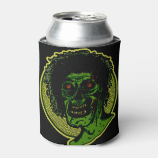 ZOMBIE! Green Face - Over Sized Can Cooler