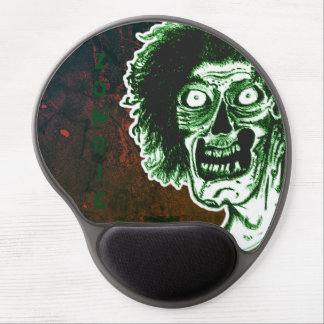 ZOMBIE- Green Gel Mouse Pad