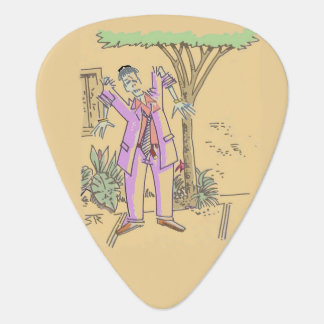Zombie guitar pick (2-sided)