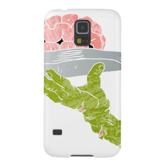 zombie hand serving brain galaxy s5 cover