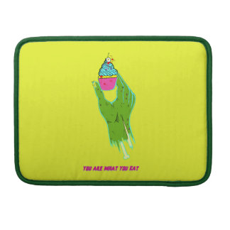 Zombie Hand - You Are What You Eat Sleeve For MacBook Pro
