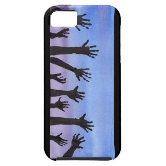 Zombie Hands at Dusk iPhone 5 Case