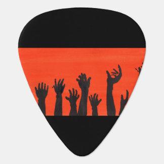 Zombie Hands Guitar Pick