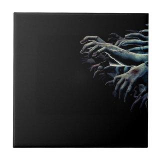 Zombie hands tile