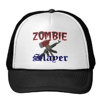 Zombie Hat Gifts Zombie Slayer logo