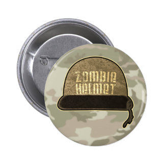 Zombie Helmet Button