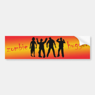 Zombie Hugger Bumper Sticker