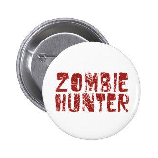 zombie hunter 2 inch round button