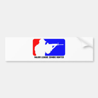 zombie hunter 3 bumper sticker