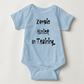 Zombie Hunter In Training Baby Bodysuit