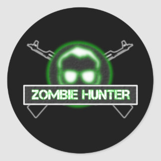 Zombie Hunter Stickers