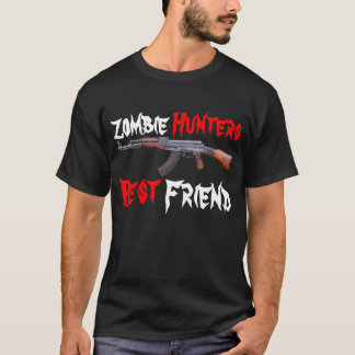 Zombie Hunters Best Friend AK47 Shirt