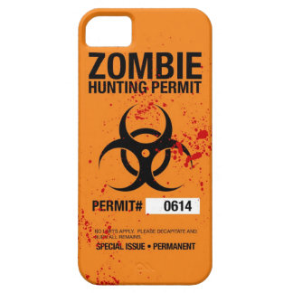 Zombie Hunting iPhone 5 Case
