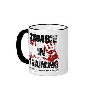 Zombie in Training Ringer Coffee Mug