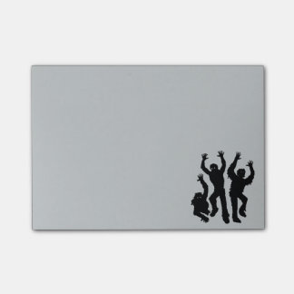 Zombie Invasion Post-it® Notes