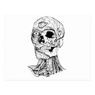 Zombie - Jeffery Postcard