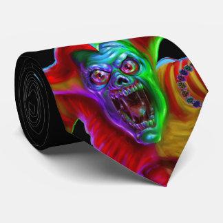 Zombie Jester Tie