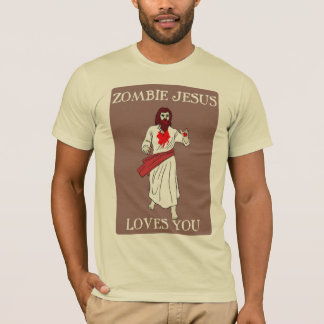 Zombie Jesus Loves You 2 T-Shirt