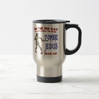 Zombie Jesus Travel Mug