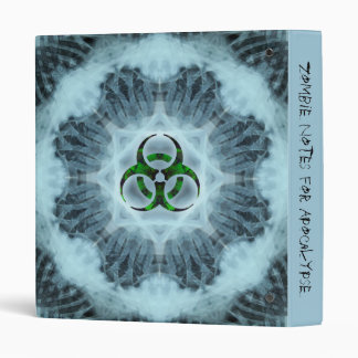 Zombie Kidz Biohazard Notebook Vinyl Binder