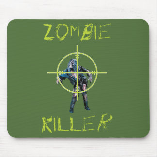 Zombie Killer and Cross hair Mouse Pad