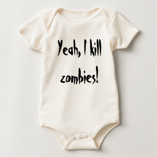 zombie killer baby bodysuit