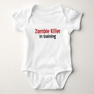 Zombie Killer , in training Baby Bodysuit