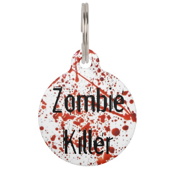 Zombie Killer Pet Tag